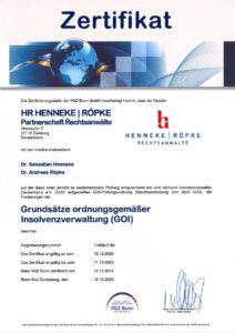 Zertifikat-GOI